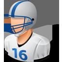 Footballplayer Male Light-128