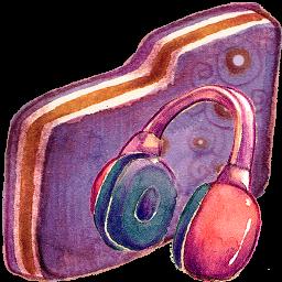 Music Violet Folder
