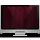 My Computer dark red-128