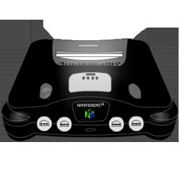Nintendo 64 black