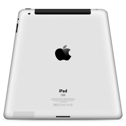 iPad 2 Back Perspective 3g