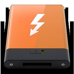 HDD Orange Thunderbolt W