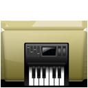 Folder Music alt Brown-128