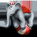 Circus Elephant-128