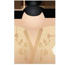Kimono women beige-128