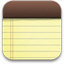 iPhone Notes icon