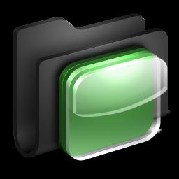 iOS Icons Black Folder