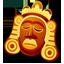 Mask orange icon