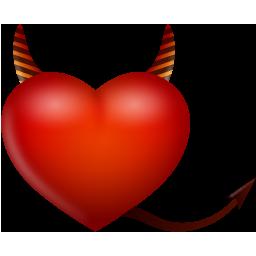 Heart Devil Icon Download Valentine Love Icons Iconspedia
