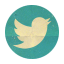 Retro Twitter Rounded-64