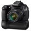 Canon 60D side bg Icon