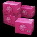 Dribbble Shipping Box-128