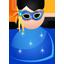 Mask woman icon