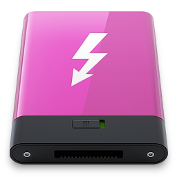 HDD Pink Thunderbolt W