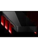 Chip black red-128