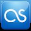LastFm blue icon
