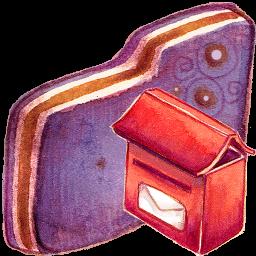 Mailbox Violet Folder