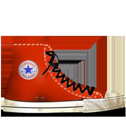 Converse Red tasi dirty