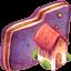 Home Violet Folder icon