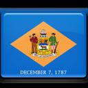 Delaware Flag-128