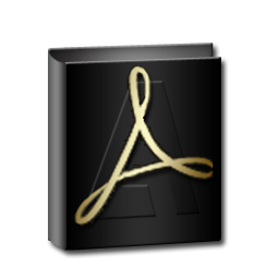 Adobe Reader Gold-256