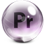 Adobe Premiere Glass icon