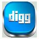 Digg blue button