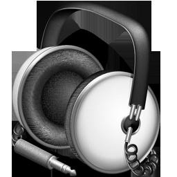 Default white headphones