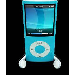 Blue iPod Nano