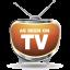 Futuristic TV icon