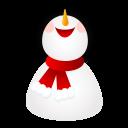 Smiling Snowman-128