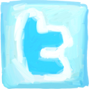 Twitter hand drawn