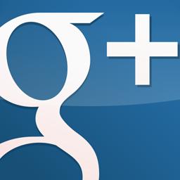 GooglePlus Gloss Blue