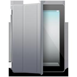 iPad 2 black gray cover