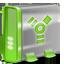 Firewire green Icon