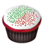 Cupcakes christmas Icon