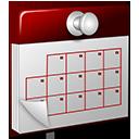 3D Calendar red-128
