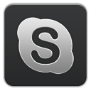 Skype Grey-128