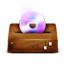 Wooden iTunes icon