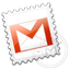 Grey Gmail stamp Icon