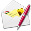 Letter pen-64