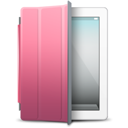 iPad 2 White pink cover