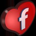 Facebook Cuore-128