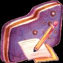 Note Violet Folder-128