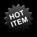 label black hot