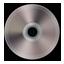 Dark Silver CD Icon