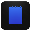 Notepad blueberry-128