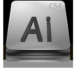 Adobe Illustrator CS4 Gray