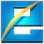 Internet Explorer square icon
