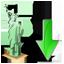 Statue of Liberty Down Icon